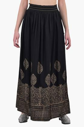 JUNIPER Women Printed Long Skirt