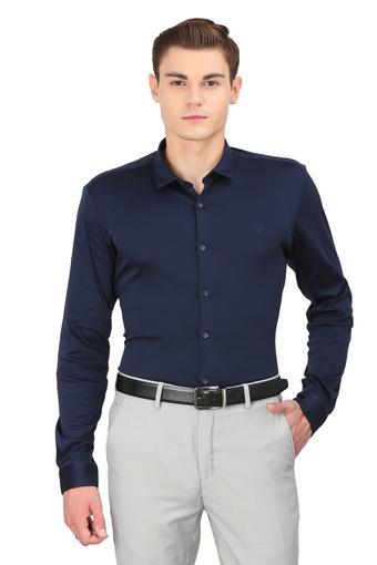 ALLEN SOLLY -  NavyShirts - Main