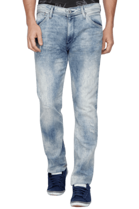 JACK AND JONES Mens 5 Pocket Stretch Jeans - 200763495