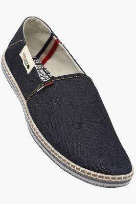 Mens Canvas Slip On Loafers - 202188425