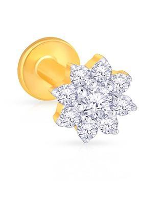 MALABAR GOLD AND DIAMONDSWomens Diamond Nosepin UINSP00165D