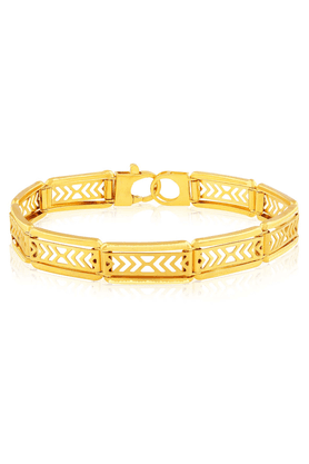 MALABAR GOLD AND DIAMONDS Mens Malabar Gold Bracelet
