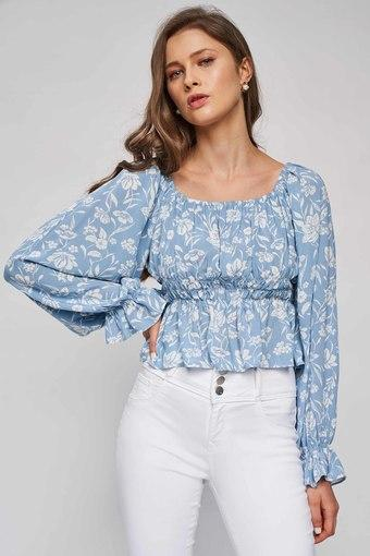 AND -  Blue Mix LightTops & Blouses - Main