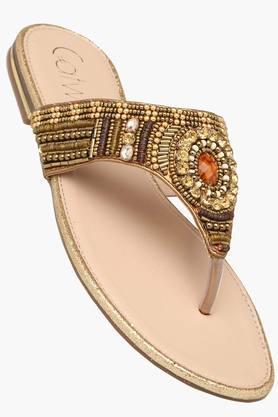 CATWALKWomens Casual Slipon Flat Sandal - 201514121
