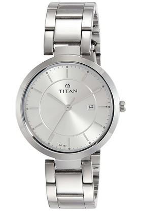Womens Analogue Metallic Watch - NK2480SM07