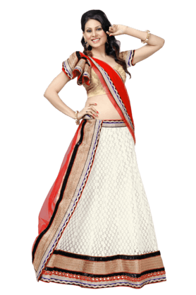 DEMARCAWomen Embroidered Lehenga Choli - 9876906