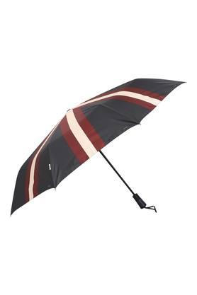 Unisex Striped 3 Fold Umbrella