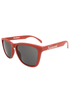 KNOCKAROUND Classic Premium Unisex Sunglasses Maroon/Smoke-PRGL1067 (Use Code FB20 To Get 20% Off On Purchase Of Rs.1800)