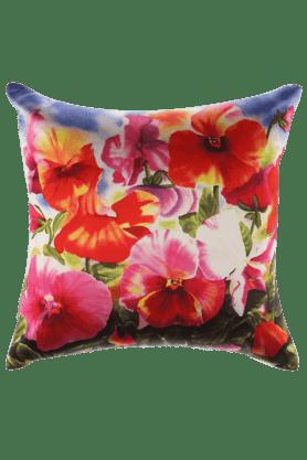 Cushion Cover - Digital Print - Floral - 16 X 16 Inches