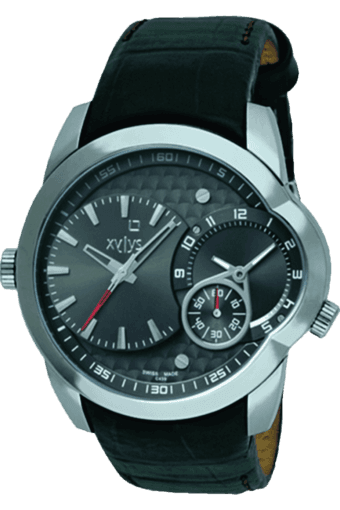 Mens Black Dial Watch NE9294QL01