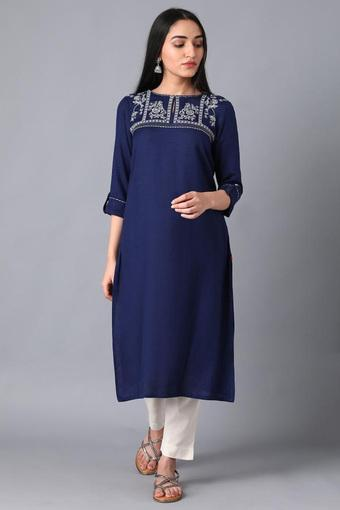 W -  Blue Kurtas - Main