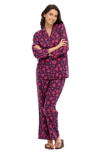 649924c4e70 Buy CLOVIA Two Piece Night Suit In Cute Prints