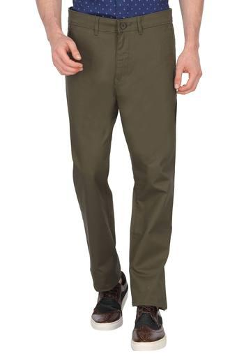 PETER ENGLAND -  Dark GreenCargos & Trousers - Main