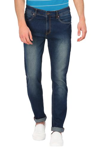 FCUK -  BlueCasual Trousers - Main