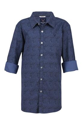 Boys Paisley Casual Shirt