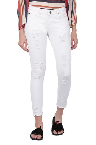 MSTAKEN -  White Jeans & Leggings - Main