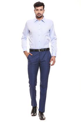 RAYMOND - Dark BlueFormal Trousers - 3