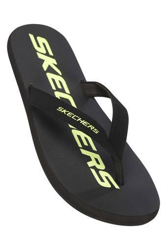 SKECHERS -  BlackSlippers & Flip Flops - Main