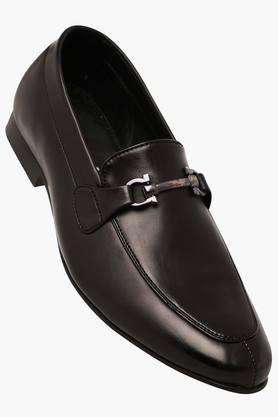 FRANCO LEONEMens Slipon Leather Smart Formal Shoe