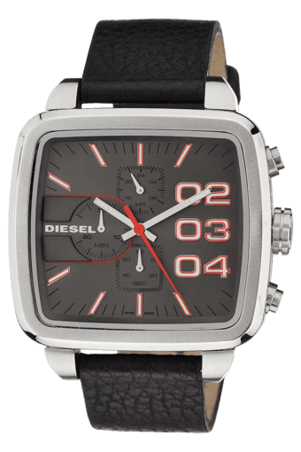 Black Casual Wrist Watch For Men- DZ4304I