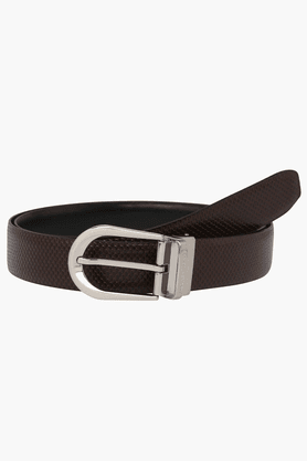 LOUIS PHILIPPE Mens Casual Leather Belt