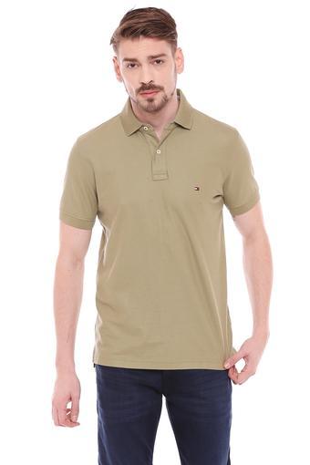 TOMMY HILFIGER -  OliveT-shirts - Main