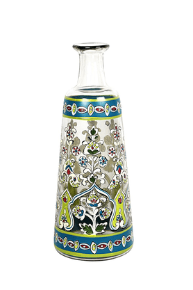 ADARA Indi Glass Painted Vase