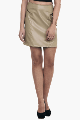 FABALLEY Womens A-line Mini Skirt - 201559998
