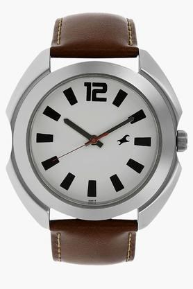 FASTRACK Mens Bare Basic White Dial Analogue Watch