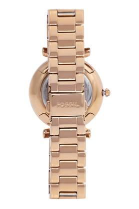 Womens Mother of Pearl Dial Metallic Analogue Watch - ES4441