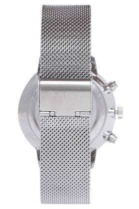 Mens Silver Dial Metallic Chronograph Watch - GTAD08900299I
