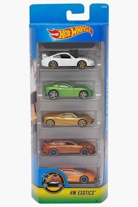 Unisex Toy Cars - Assorted Pack of 5