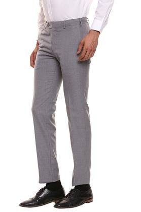 RAYMOND - Grey Formal Trousers - 2