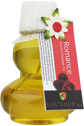 SOULFLOWER Romance Aroma Massage Oil