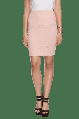 ELLIZA DONATEINWomens Textured Pencil Skirt