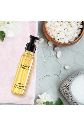 Lakme Absolute Argan Oil Radiance Rinse Off Cleansing Oil - 60 ml