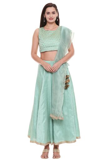 IMARA -  Green IMARA - Shop for Rs.4999 And Get Rs.500 Off - Main