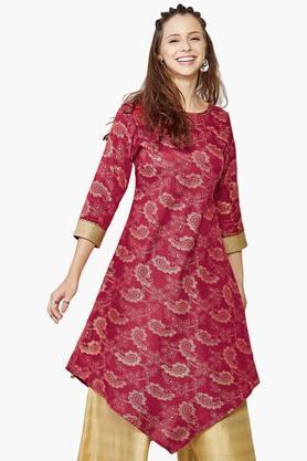 GLOBAL DESI Womens Printed Tunic