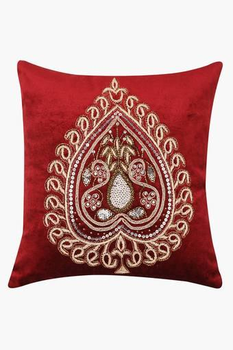 TREASURES -  Red Mix Cushion Covers - Main