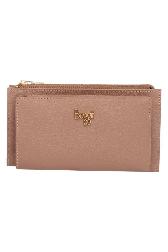 Womens Casual Wear Snap Closure Wallet