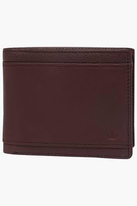TITAN Mens Leather 1 Fold Wallet - 200194413