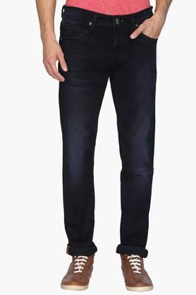 KILLERMens 5 Pocket Skinny Fit Mild Wash Jeans