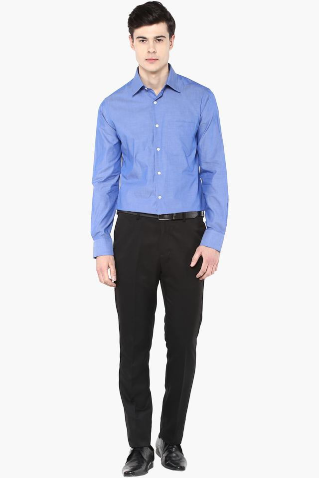 Mens Slim Fit Slub Shirt