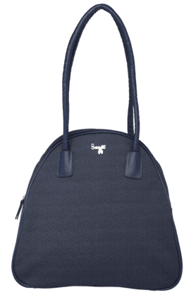 BAGGITWomens Leather Zipper Closure Shoulder Bag - 200843704