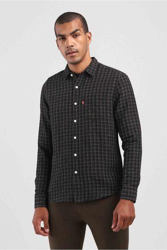 LEVIS -  BlackCasual Shirts - Main