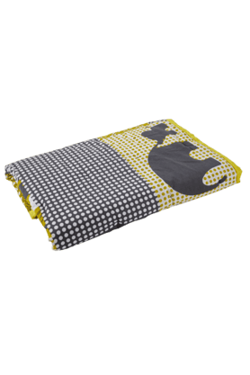 MASPARZoo Keeper Print Double Quilt