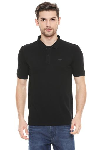 WRANGLER -  BlackT-shirts - Main