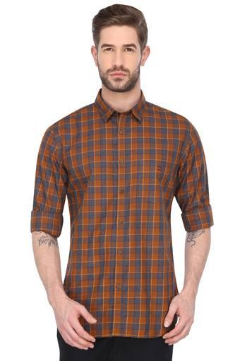 LOUIS PHILIPPE SPORTS -  Brown MixCasual Shirts - Main
