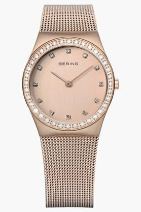 BERINGWomens Classic Rose Gold Round Analogue Watch 12430-366