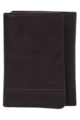 BAGGIT Mens Tropical Leather 2 Fold Wallet
